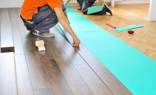 Ламинат на деревянный пол: подготовка и особенности монтажа
